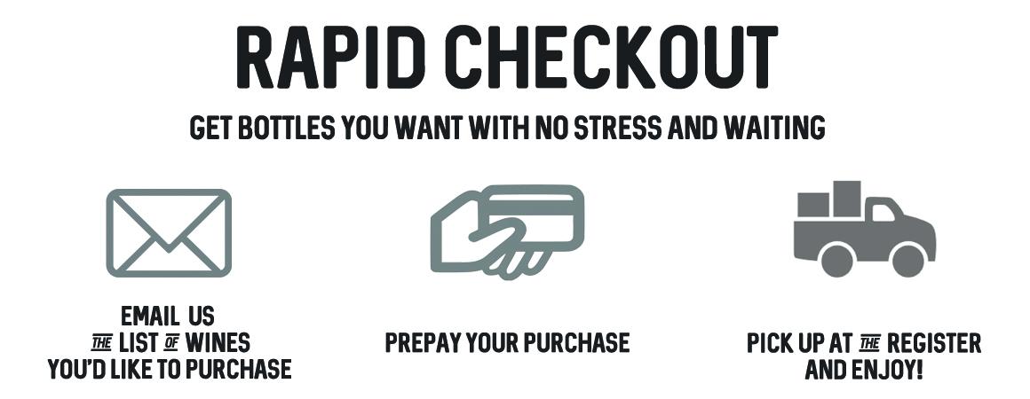 Rapid checkout